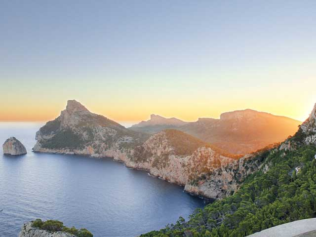 Baléaric Islands Minorca  sept