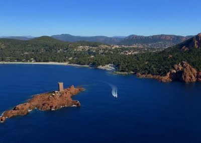 Cap Camarat and the Bay of St Tropez